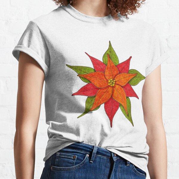Poinsettia Classic T-Shirt