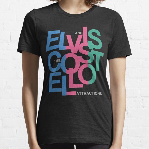 Elvis Costello (Black) Essential T-Shirt