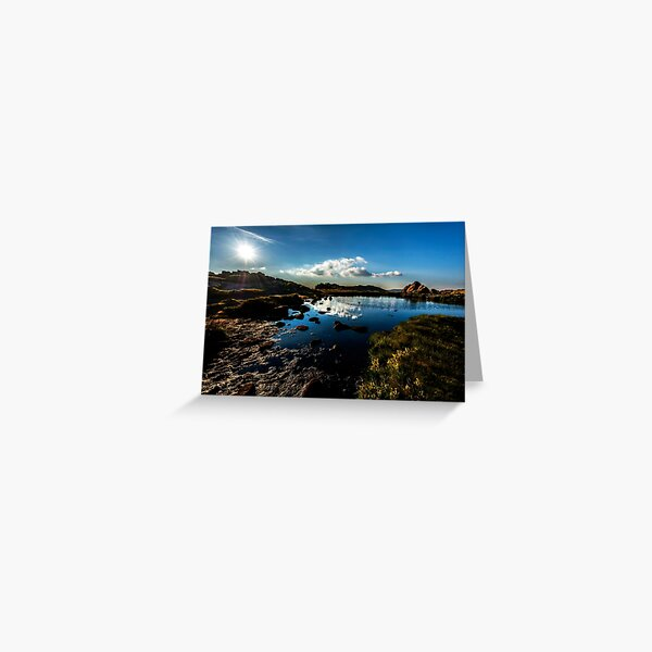Doxey Pool, The Roaches Greeting Card