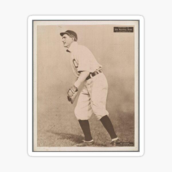 office design ideas Shoeless Joe Jackson baseball player Selz Shoes ad tin sign