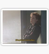 Oh, Scully. Sticker