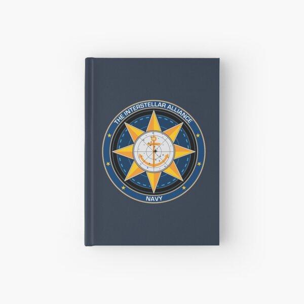 Interstellar Alliance Navy logo Hardcover Journal