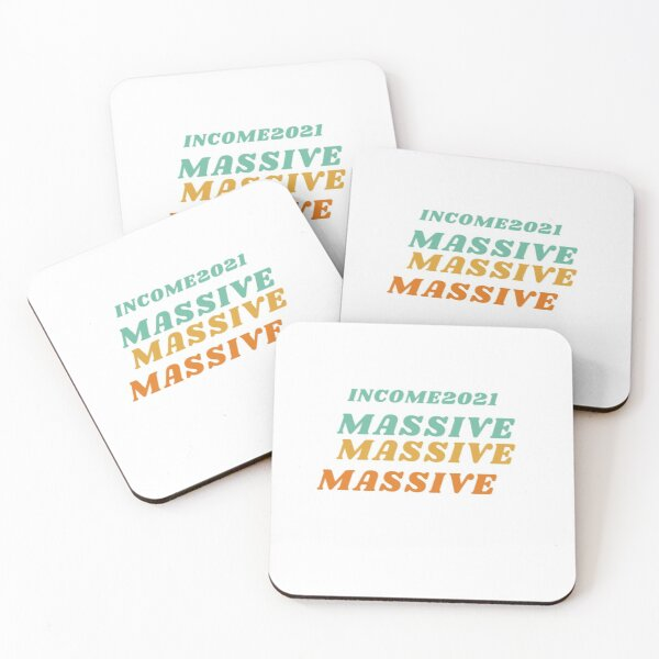 New year's resolutions Coasters (Set of 4)