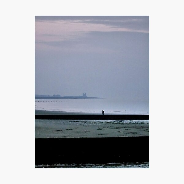 Mist over Minnis Bay Photographic Print