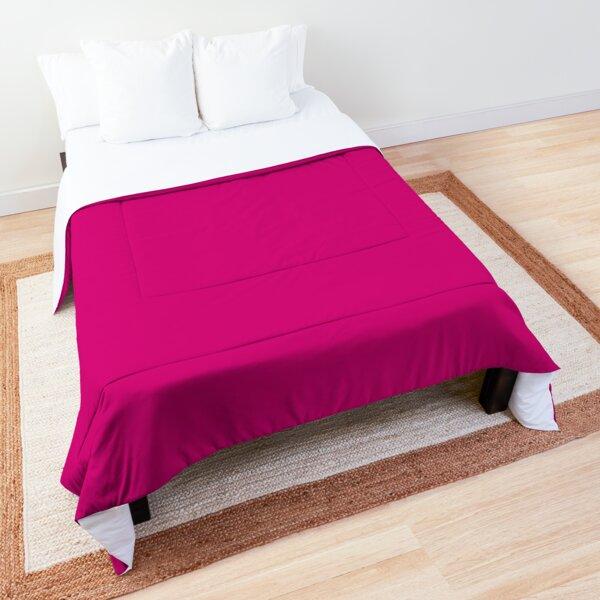 Fuchsia dress, Fuchsia socks, Fuchsia notebook Comforter