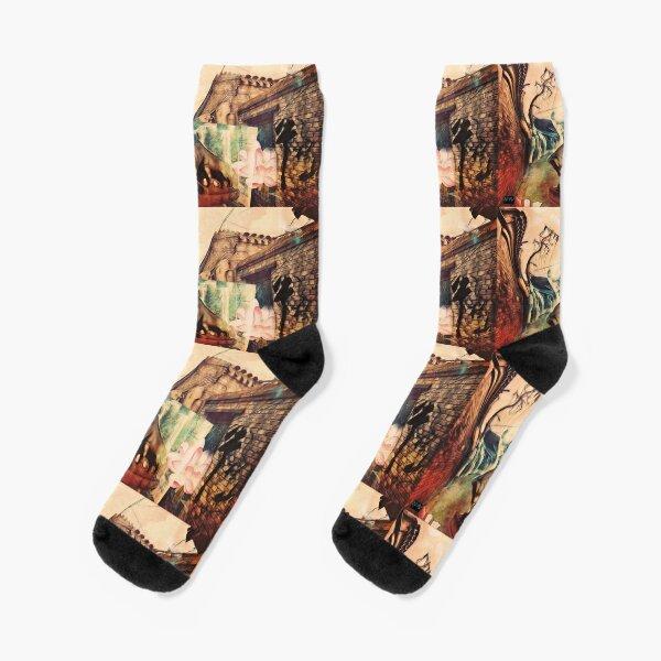 牛栏山白酒 Beijing Trip Socks