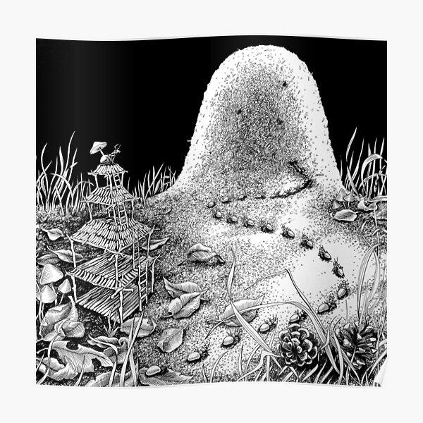 Ameisenhaufen Poster