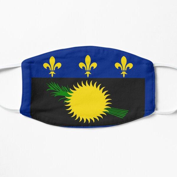 Cadeau du drapeau de la Guadeloupe pour un Guadeloupéen fier Masque sans plis