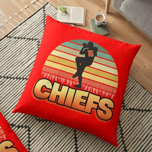 Kansas City Football Lover Floor Pillow