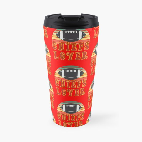 Kansas City Football Lover Travel Mug