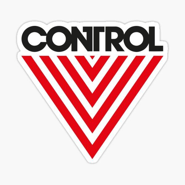 Federal Bureau of Control   Control Game Logo   Distressed Logo ClassicT-Shirt Sticker
