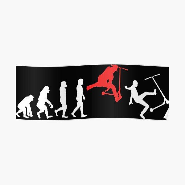 Stunt Scooter Evolution Poster