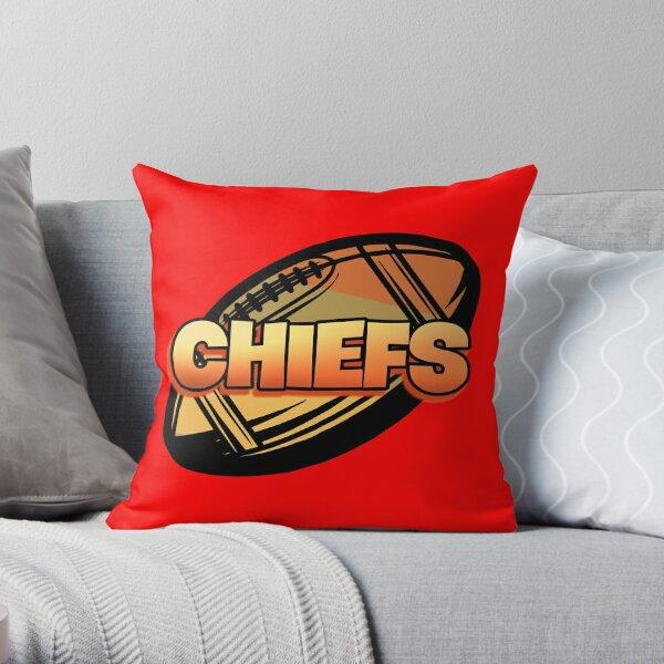 Kansas City Football Lover Throw Pillow