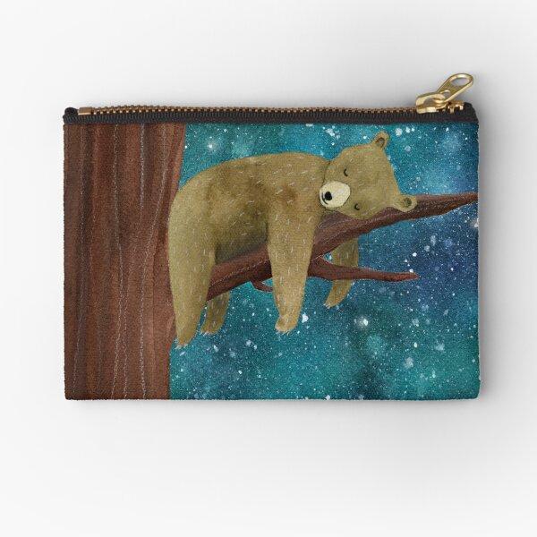 Good night little bear Zipper Pouch