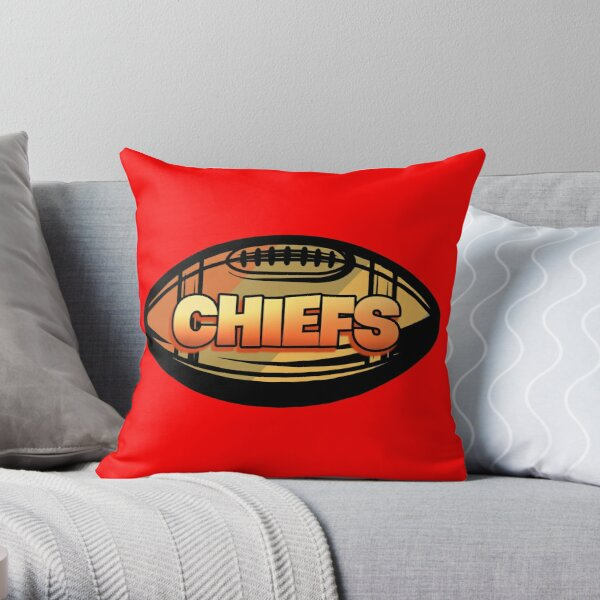 Kansas City Football Lover Throw Pillow
