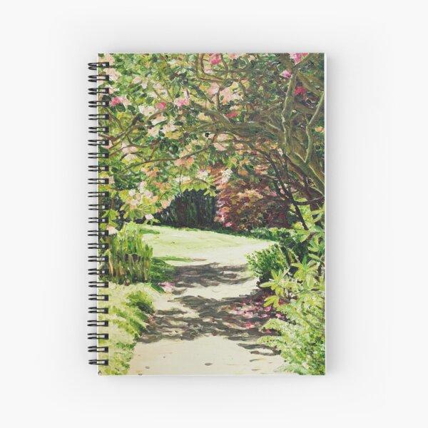 Under the rhododendron Spiral Notebook
