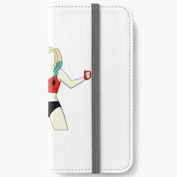 red and black hero iPhone Wallet