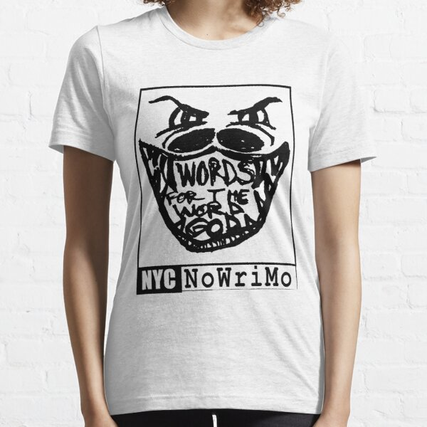 NYCNoWriMo Word God Essential T-Shirt