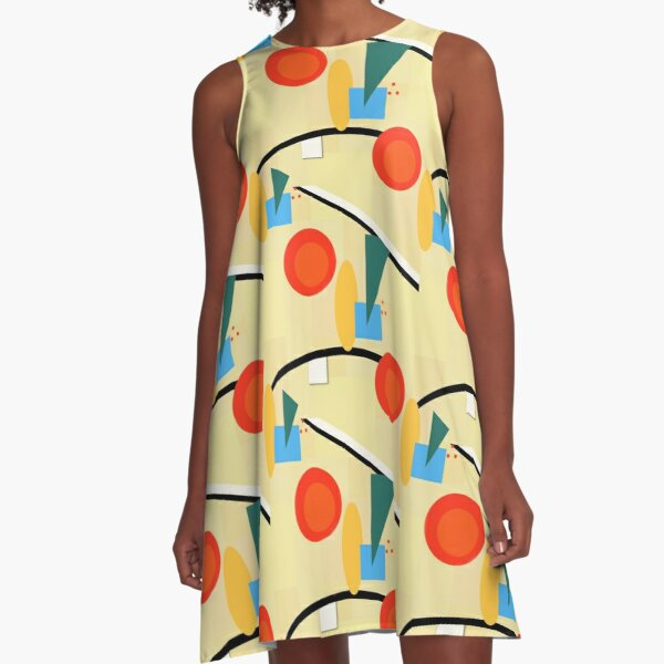 Regret - Pattern A-Line Dress