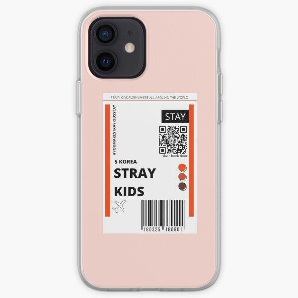Entradas para niños callejeros puerta trasera Funda blanda para iPhone