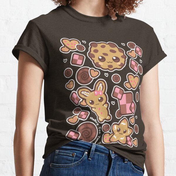 Kawaii Chocolate Chip Cookies Classic T-Shirt