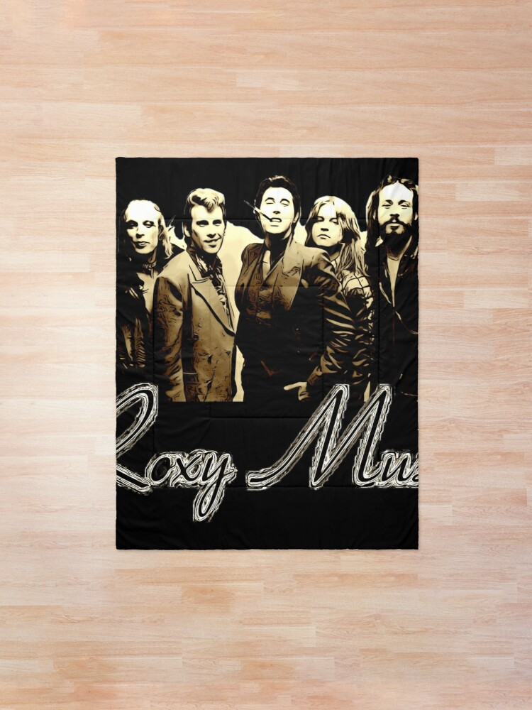 Alternate view of Vintage Roxy Music  Comforter