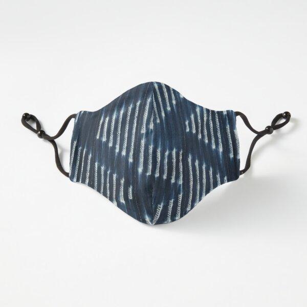 Blue Indigo Mudcloth 02 Fitted 3-Layer