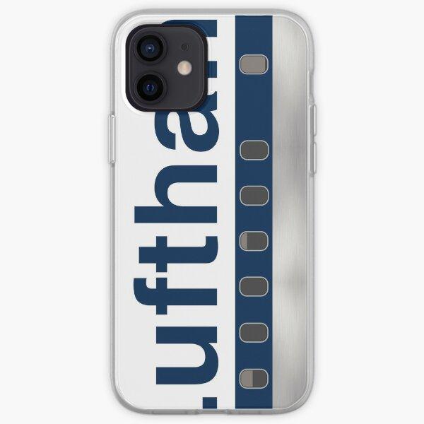 Tees d'avion - Lufthansa (années 1970) Coque souple iPhone