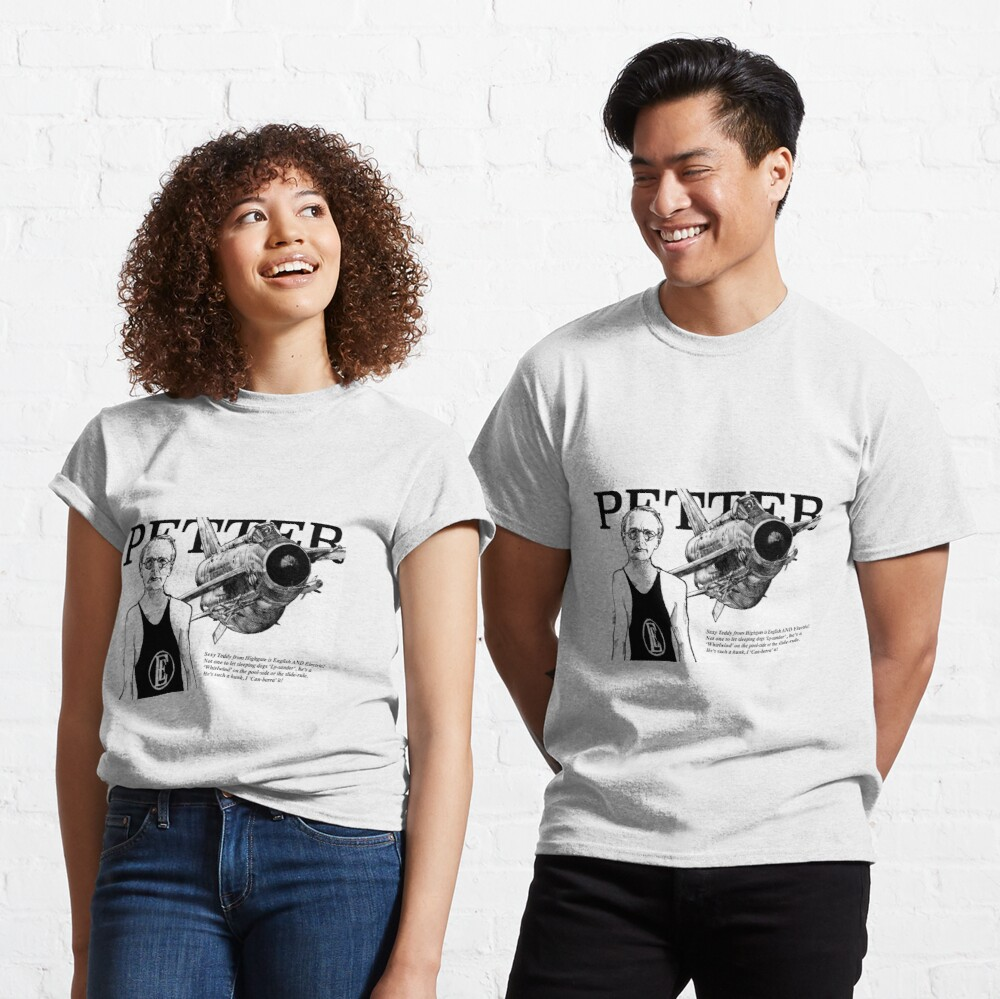 English Electric Lightning Teddy Petter designer pin-up  Classic T-Shirt