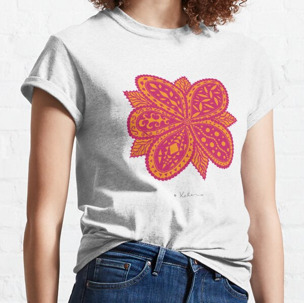 Magic Flower Pink Classic T-Shirt