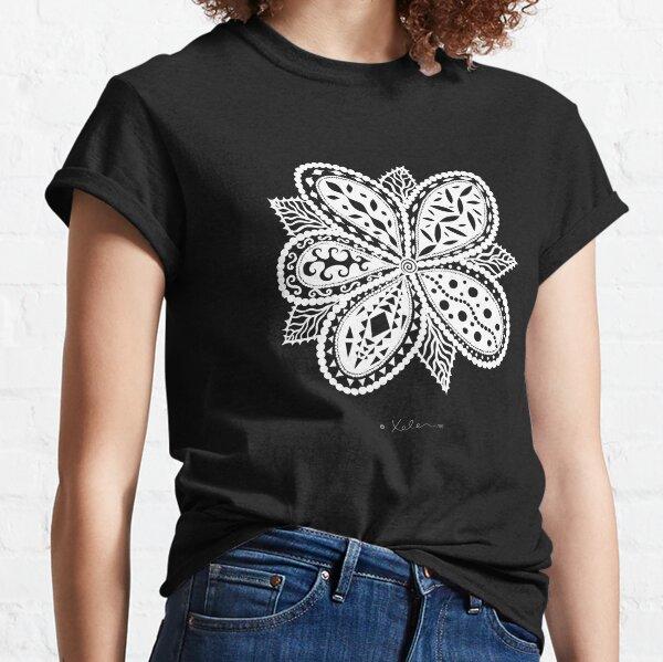 Magic Flower white, Helen Berchtold Classic T-Shirt