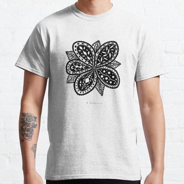 Magic Flower black, Helen Berchtold Classic T-Shirt