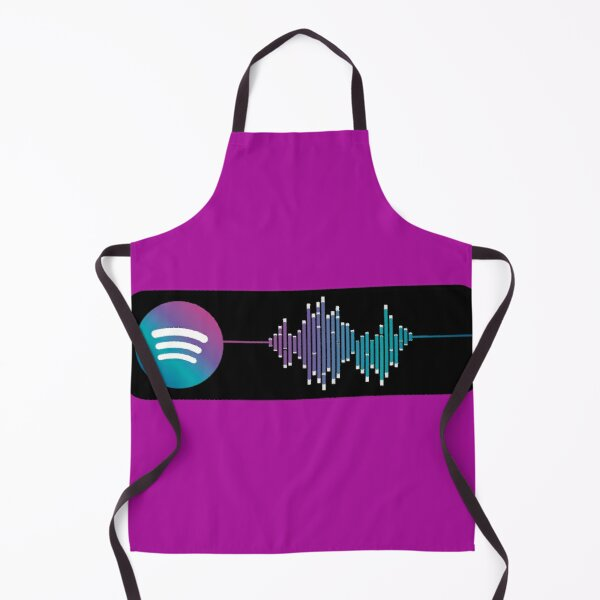 Spotify Song Codes Apron