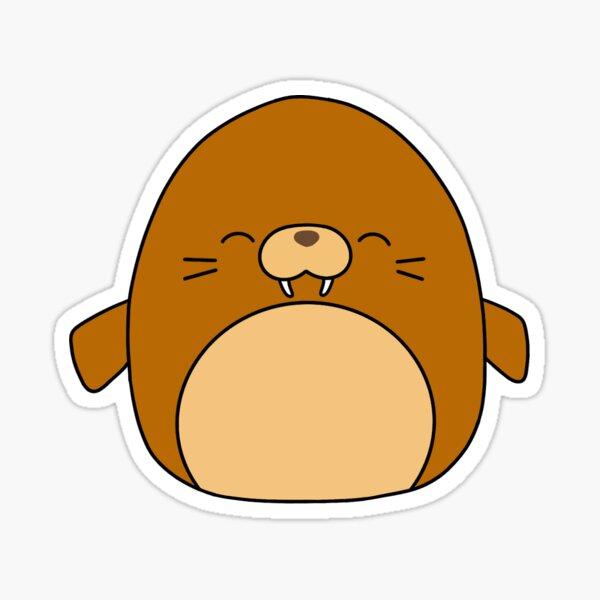 Walrus Squishmallow- Bruce the Walrus Squishmallow Sticker
