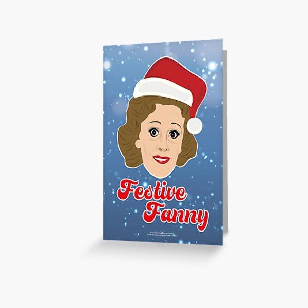 Festive Fanny Card Greeting Card