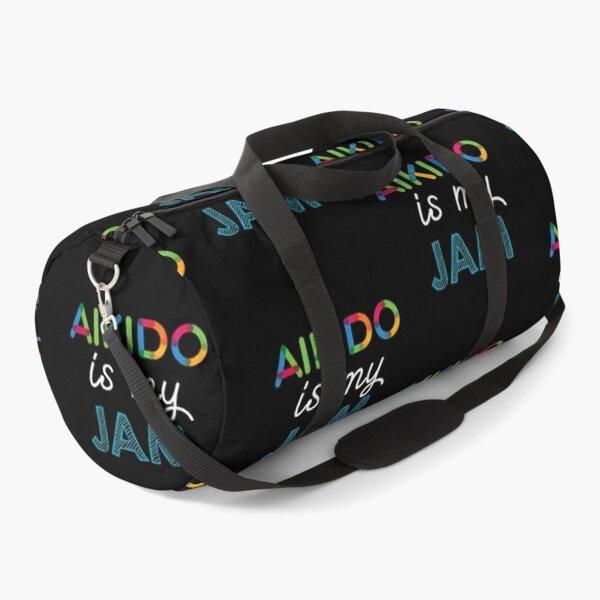 Aikido is my Jam. Funny Aikido Design Duffle Bag