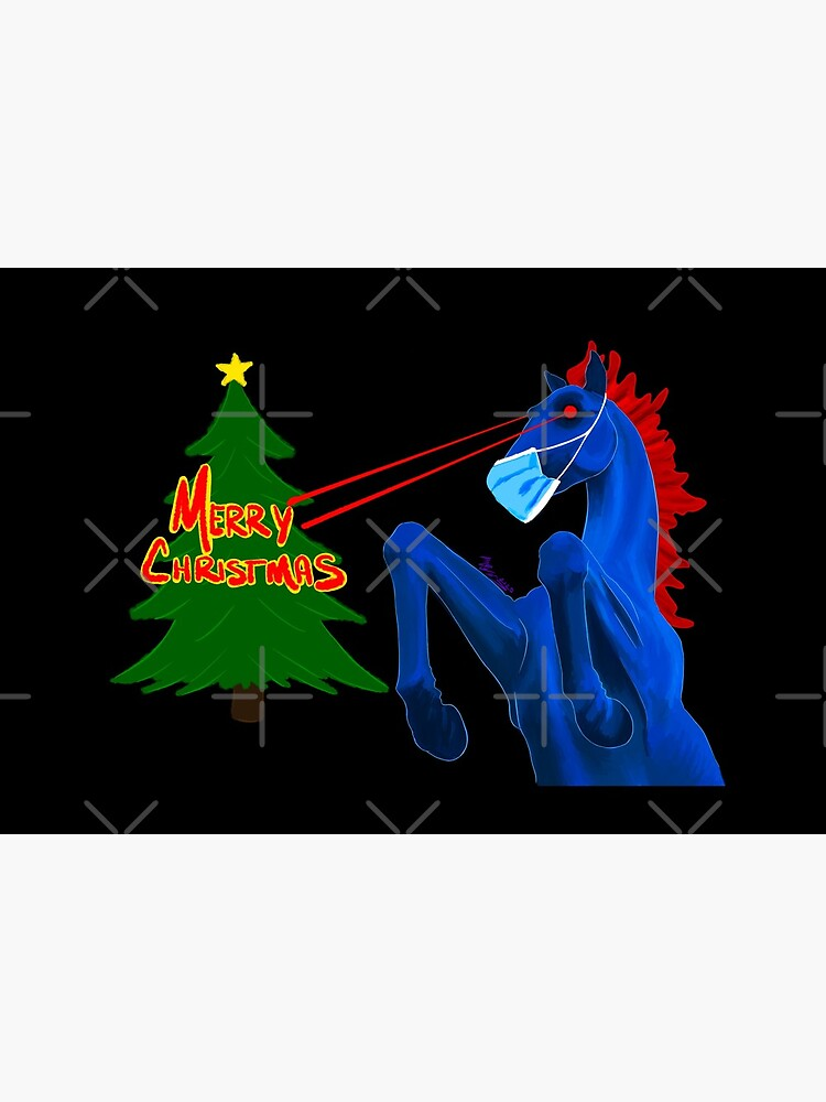 Merry Christmas, From Blucifer  by that5280lady