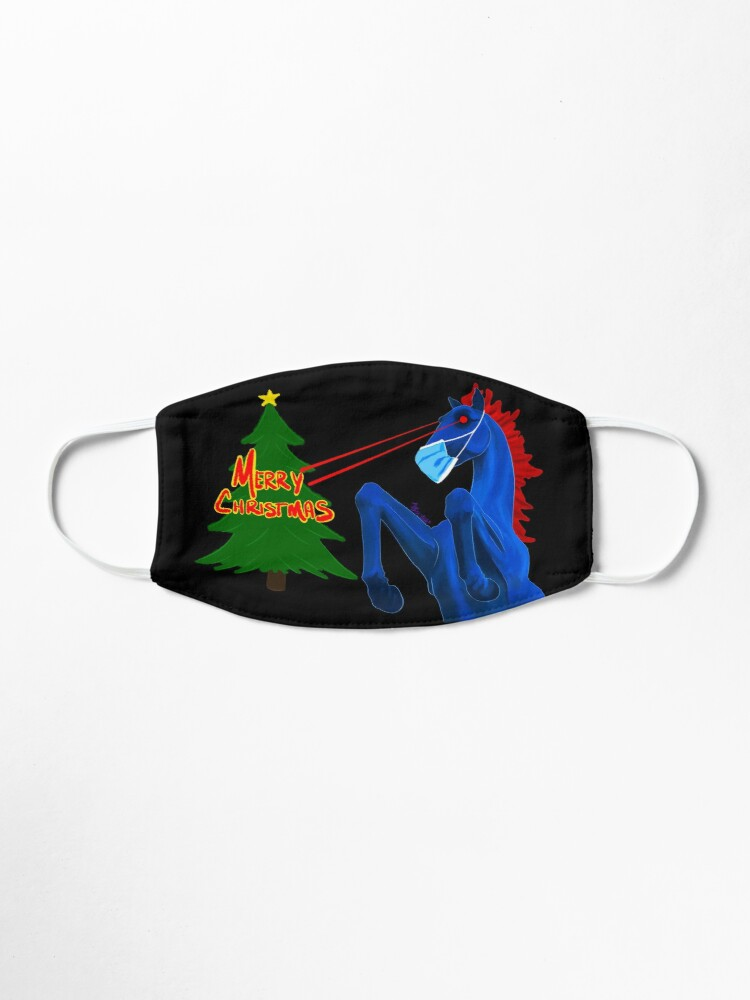 Alternate view of Merry Christmas, From Blucifer  Mask