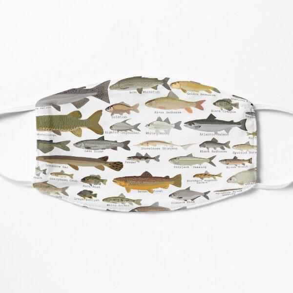 Fishes of Minnesota Flat Mask