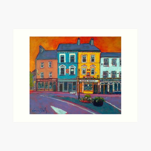 Main Street, Skibbereen (County Cork, Ireland) Art Print
