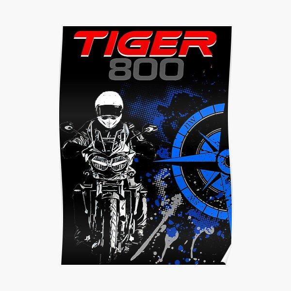 Triumph Tiger 800 Póster