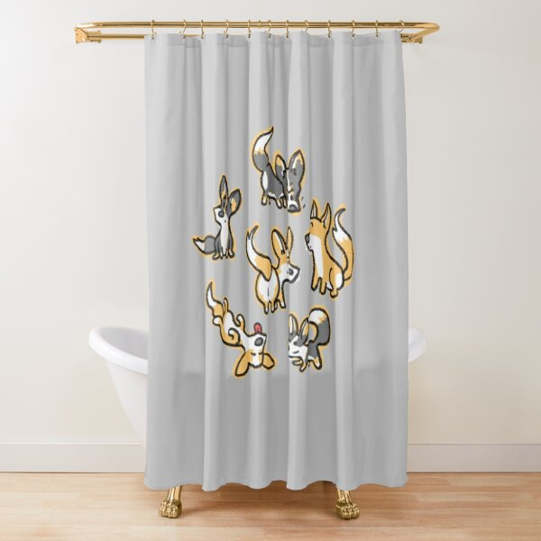 Corgis! Shower Curtain
