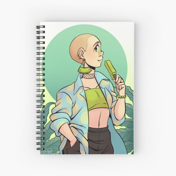 Melon Spiral Notebook