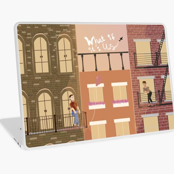 WHAT IF IT'S US Sunset & Brownstones Laptop Skin