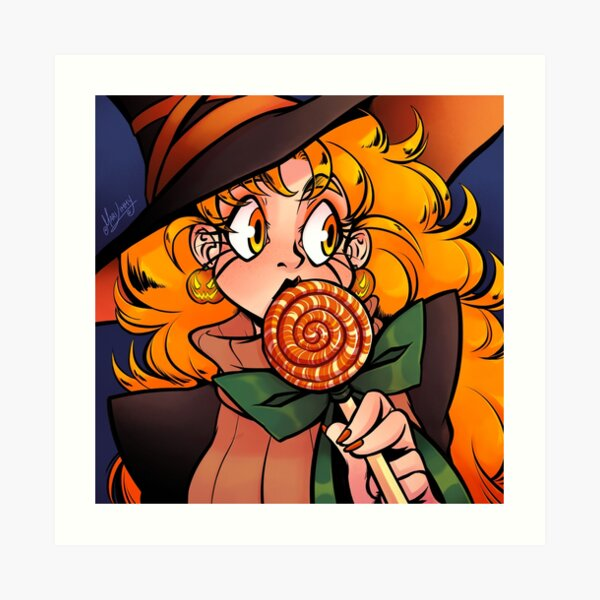 Pumpkin Candy Art Print