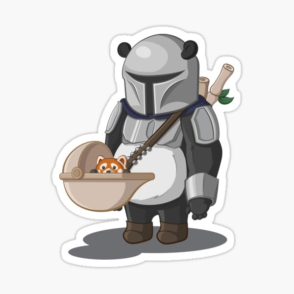 The Pandalorian Sticker