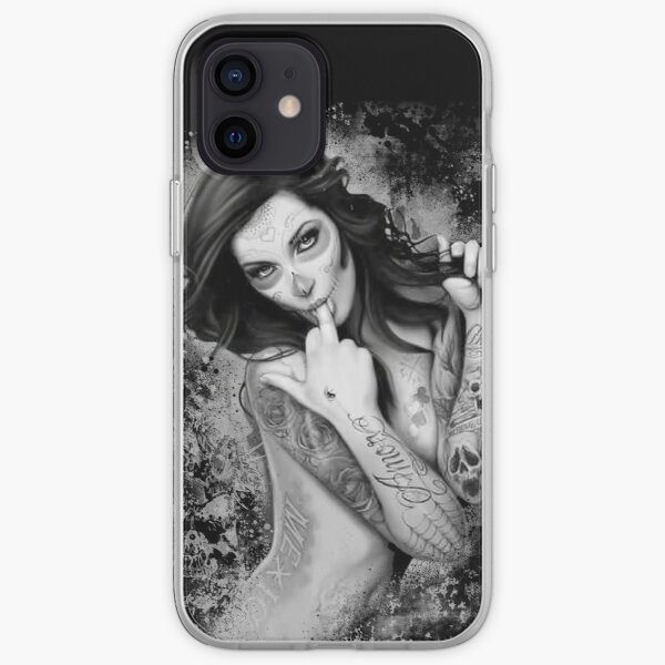 day of the dead item iPhone Soft Case