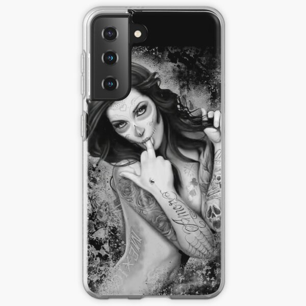 day of the dead item Samsung Galaxy Soft Case
