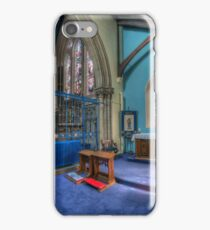 Abide With Me iPhone Case/Skin