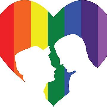 Kurt and Blaine #LoveisLove by badesign